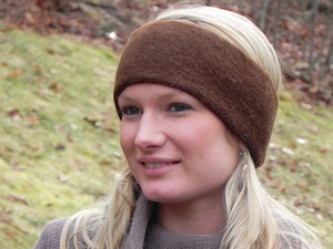 Alpaca Felted Headband